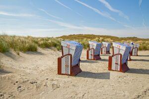 Norderney ist eine der Ostfriesischen Inseln in der Nordsee.